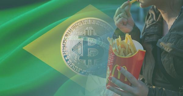 Brazilian Federal Deputy: You'll soon be able to buy McDonald's using Bitcoin
