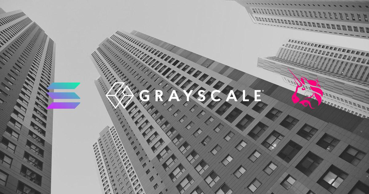 Grayscale announces investments in Solana (SOL) and Uniswap (UNI)