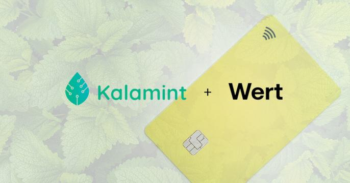 Tezos-based Kalamint partners with Wert to offer credit card top ups