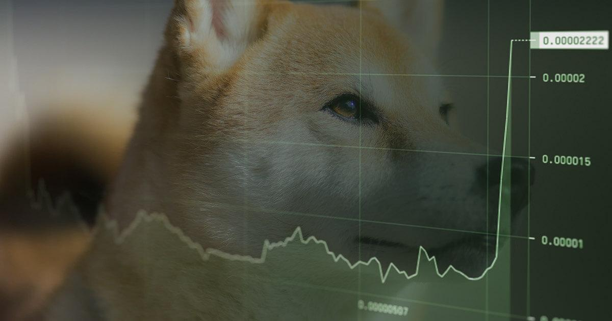Shiba Inu (SHIB) jumps another 74% in seventh consecutive green day