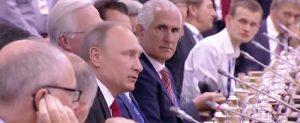 Vladimir Putin and Vitalik Buterin in Russia