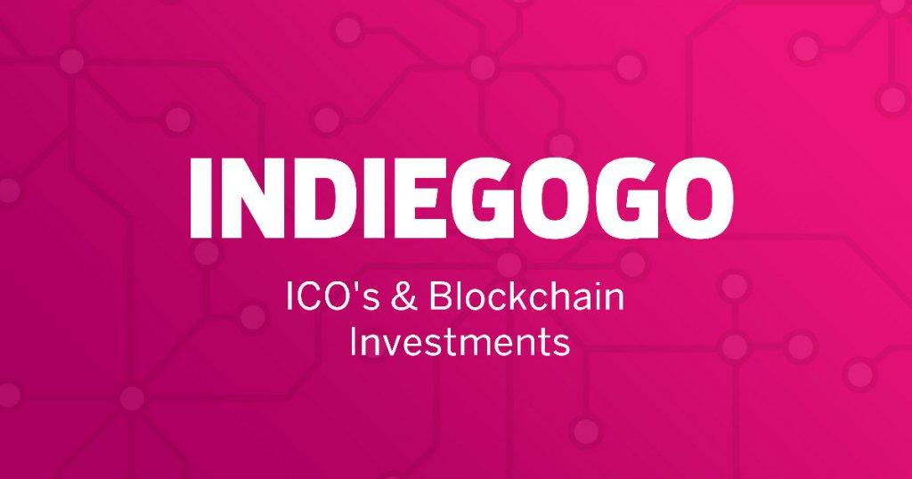 Indiegogo Blockchain and ICO Investments
