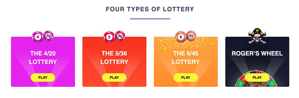 FireLotto - Four Types of Lottery