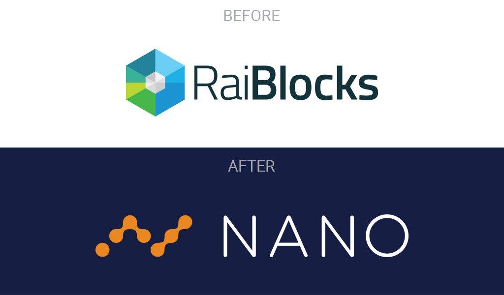 Image result for raiblocks to nano
