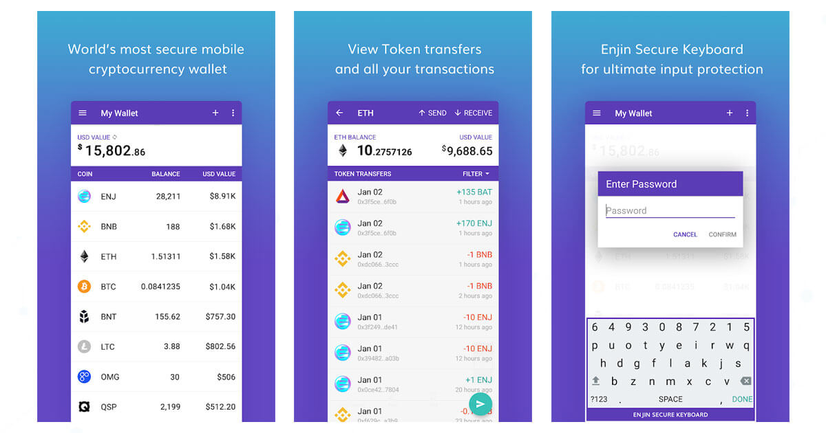 Enjin Wallet | CryptoSlate