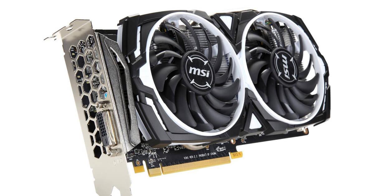 MSI Radeon RX 580 MINER 8G Mining Card DVI-D 8GB 256-bit GDDR5 PCI-E 3.0 x16