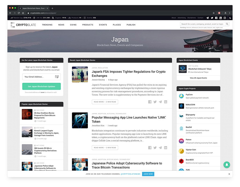 CryptoSlate Japan