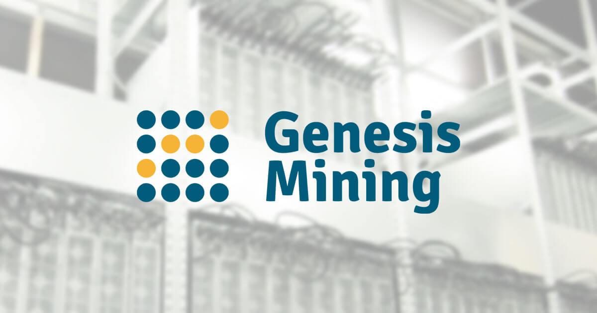 Genesis Mining | CryptoSlate