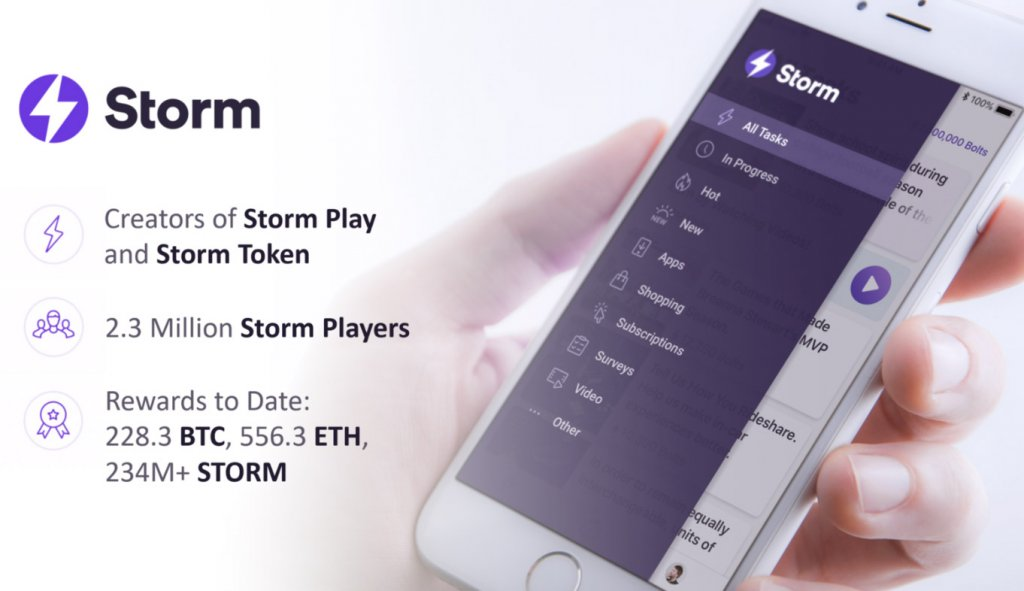 Gamified Microtask Platform StormX Updates Product and Expands Team