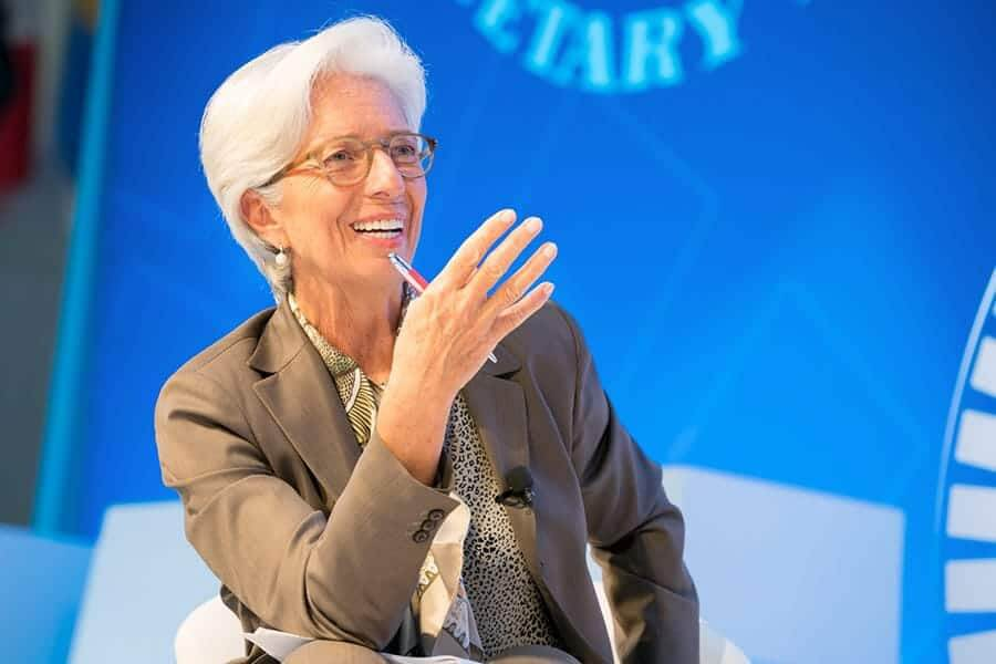 """IMF director: """"crypto disruptors are shaking the system,"""" launches private cryptocurrency """"Learning Coin"""""""
