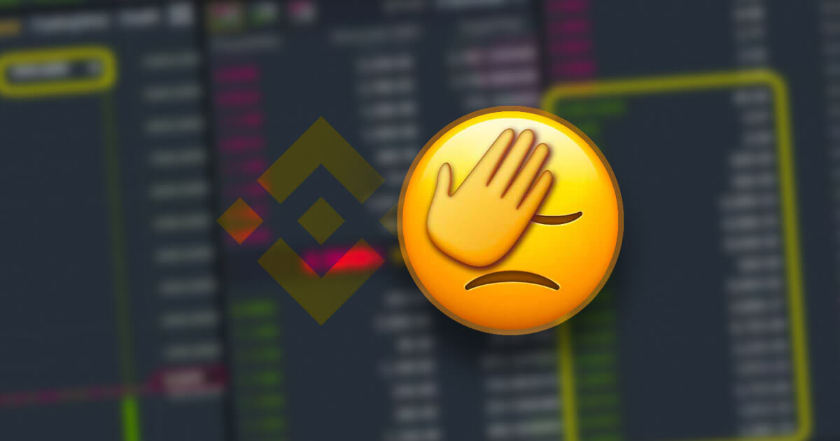 Market buy on thin Binance order book costs inexperienced