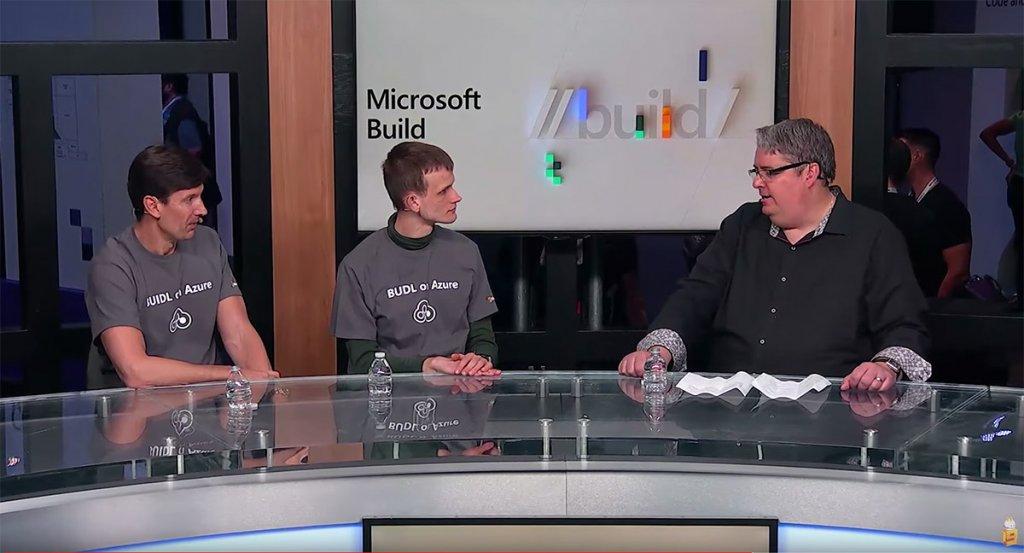 Vitalik Buterin at the Microsoft Build Conference