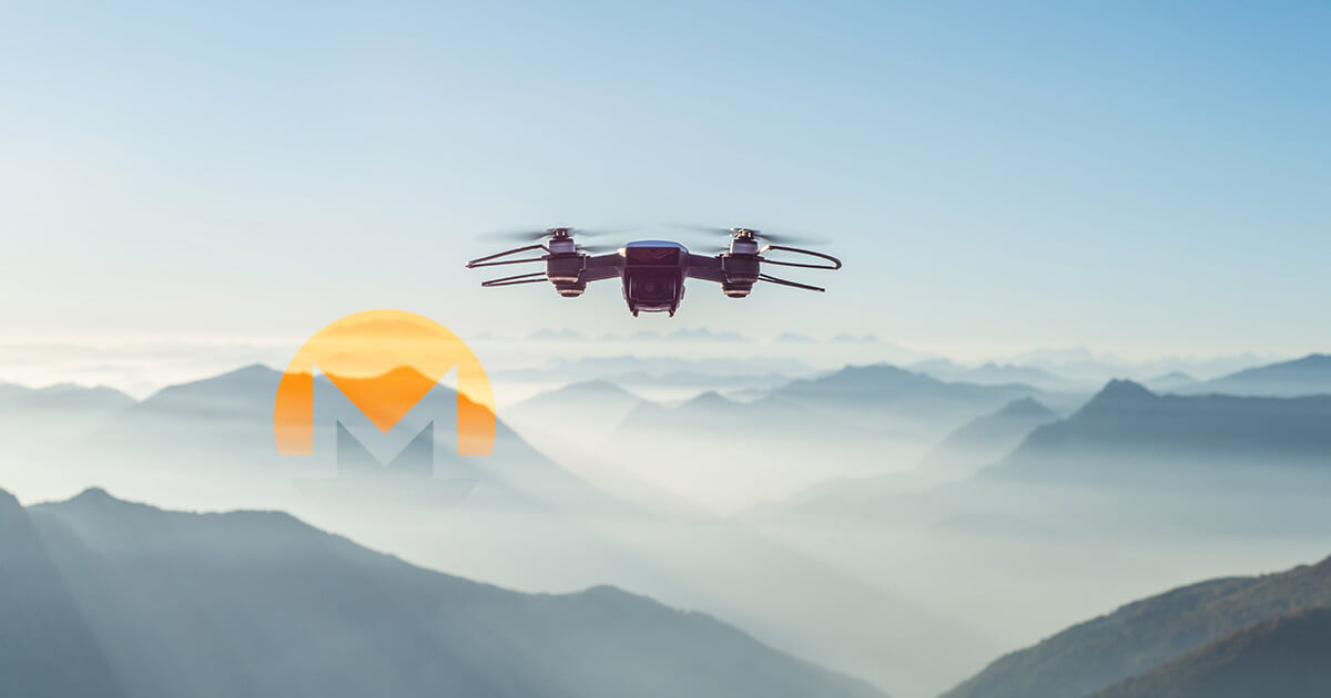 Bullet stopping drones now mine on the Monero network