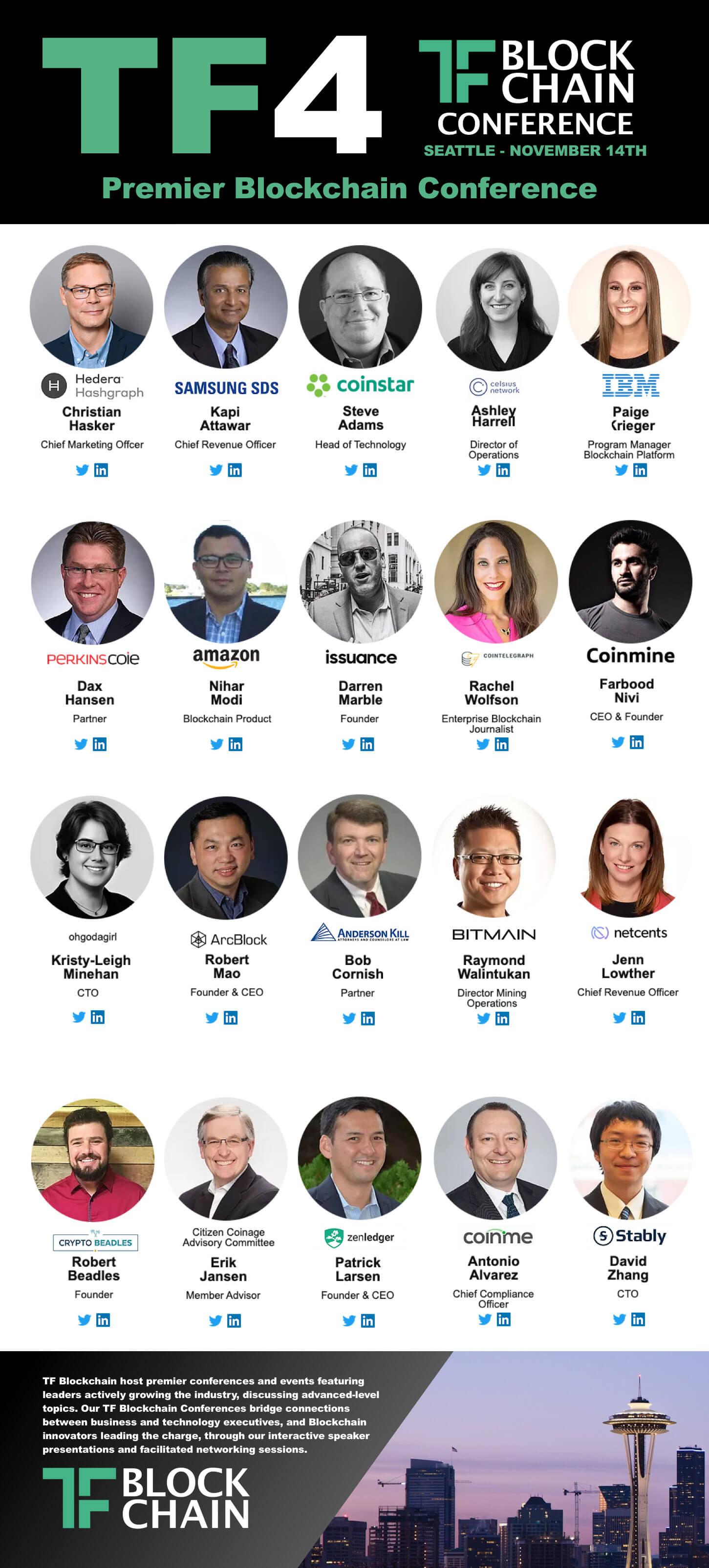 TF4 Blockchain Speakers