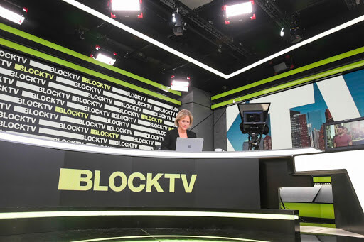 Yael Lavie, BLOCKTV's senior anchor. Photo by: Pazit Dank