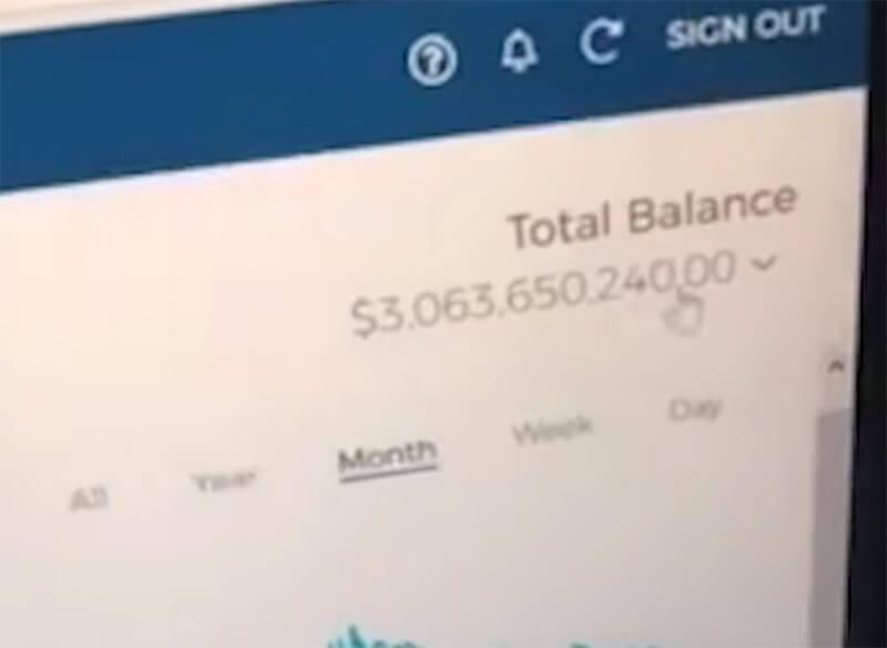 Jorg Molt's Bitcoin Wallet