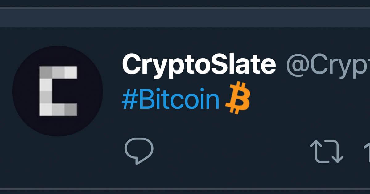 Bitcoin Community Goes Bonkers As Twitter Adds Btc Emoji Cryptoslate