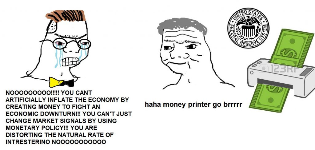 """The Money Printer Meme"""