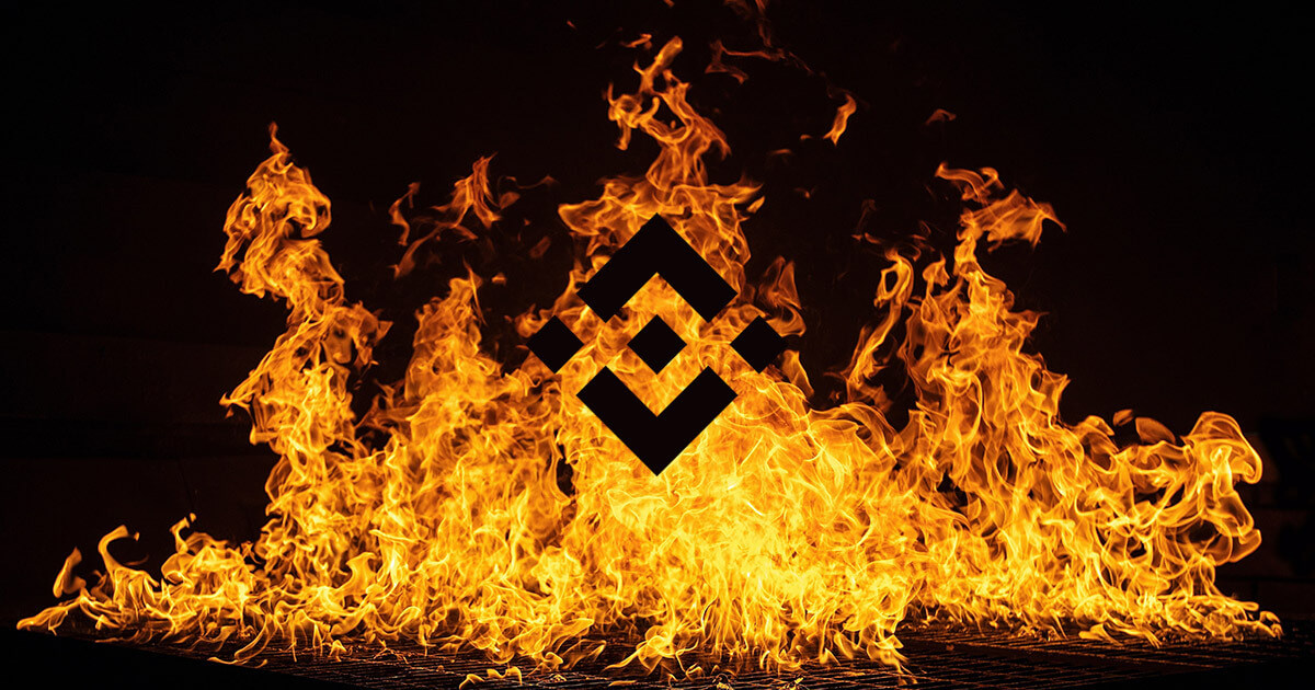 Crypto exchange Binance burns nearly $600 million worth of BNB