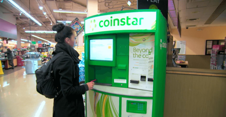 bitcoin ATM in supermarket