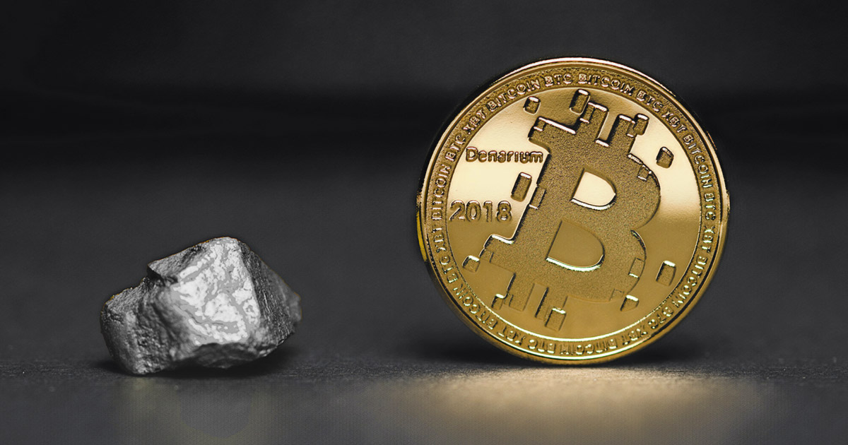 <bold>Bitcoin</bold> is now worth half of all silver in the world
