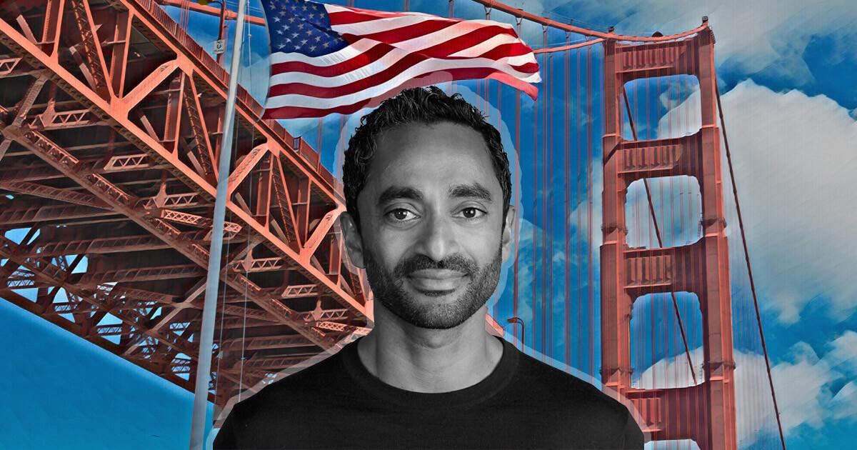 Early Bitcoin advocate Chamath Palihapitiya to contest for California governor