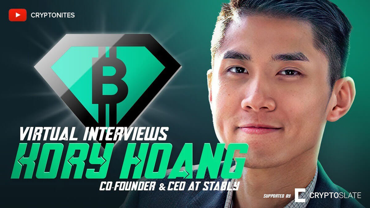 Stably CEO Kory Hoang explains how first-timers should buy Bitcoin (and where stablecoins are headed) | CryptoSlate