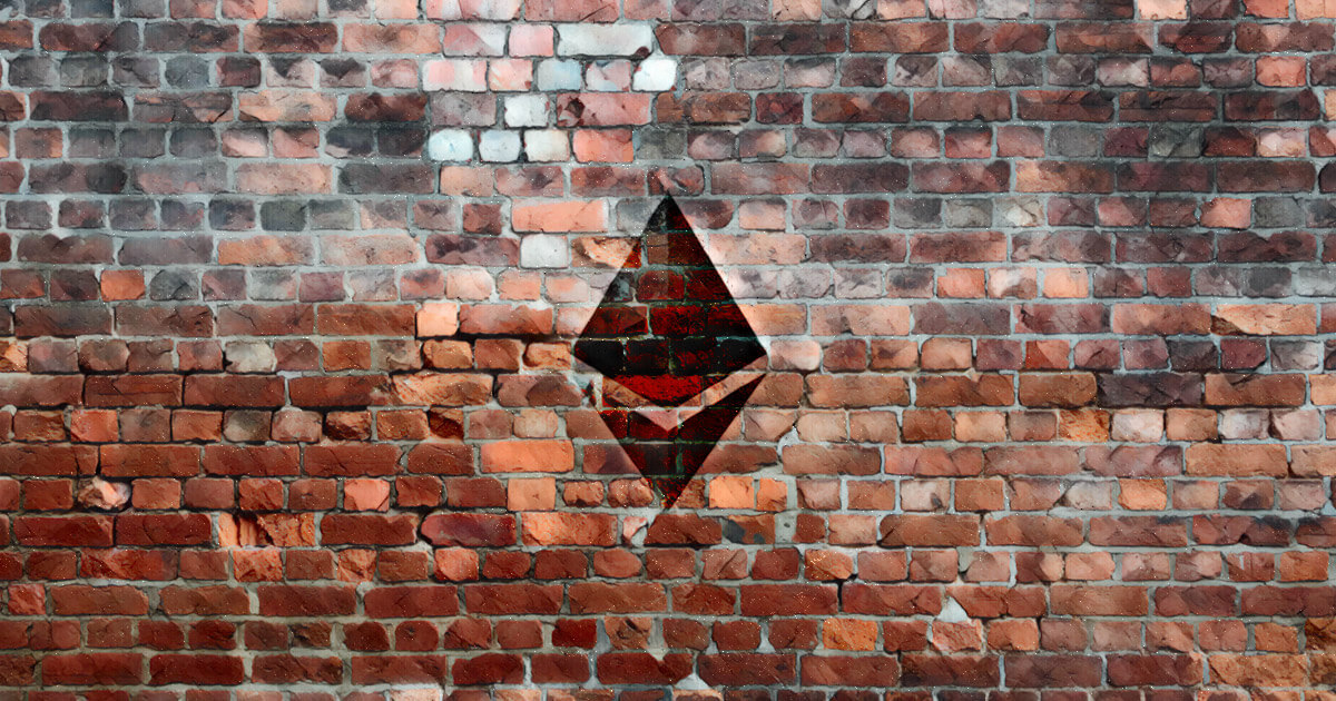 There's a massive 32,000 Ethereum sell wall at $1,250 stopping bullish price action