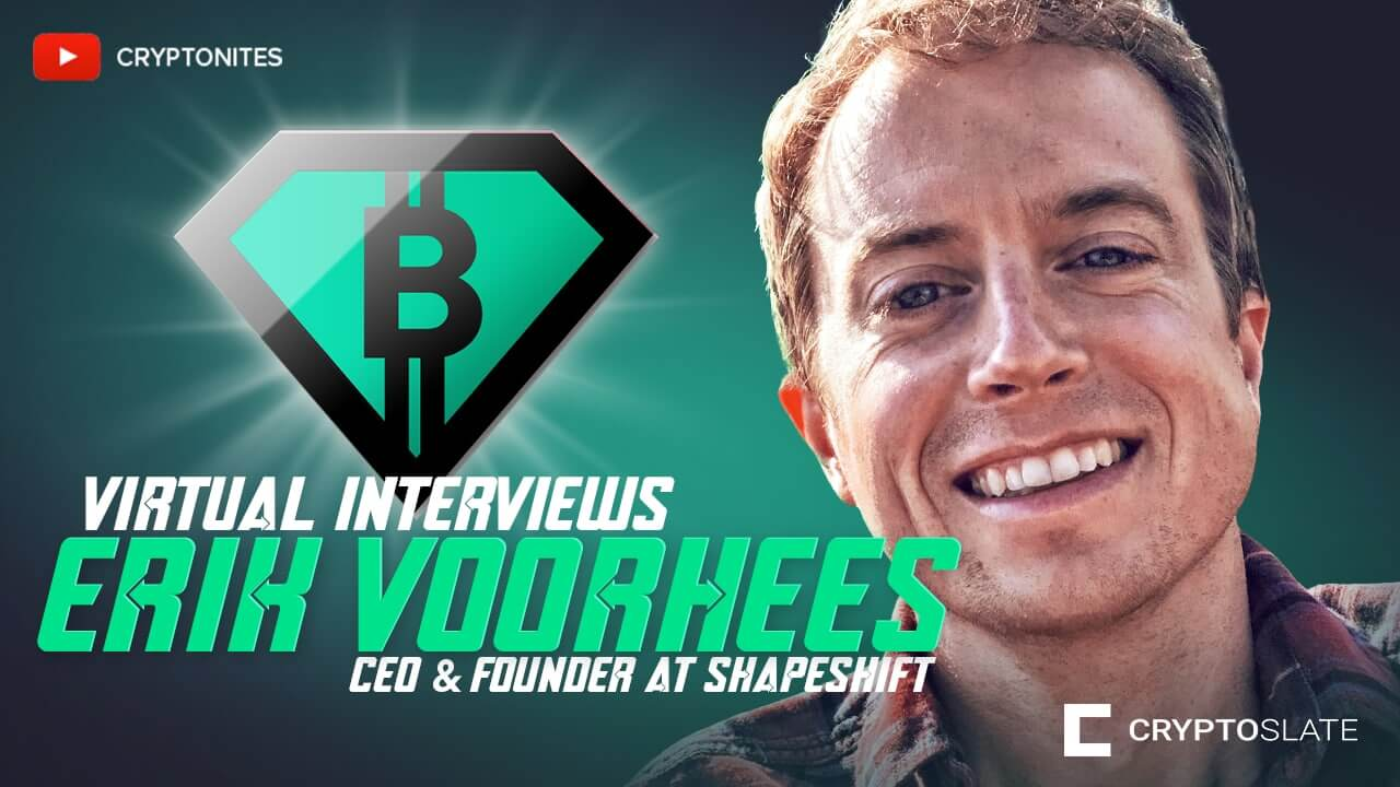 ShapeShift CEO Erik Voorhees on Bitcoin's future and Peter Schiff's big gold mistake