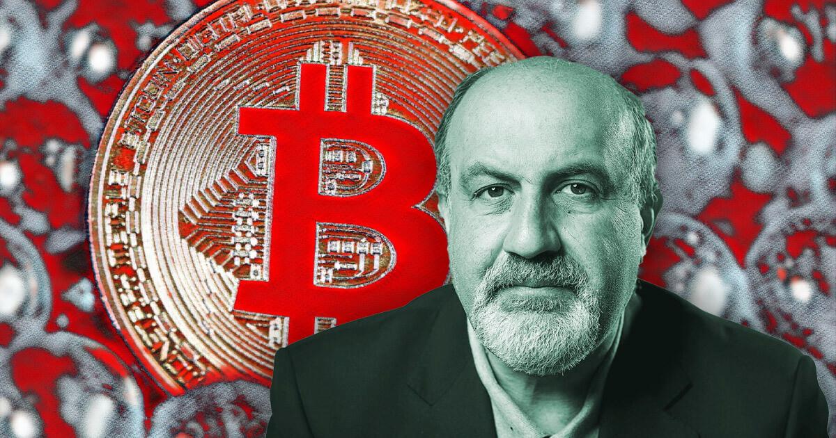 Bitcoin is an 'open Ponzi scheme,' says 'Black Swan' author