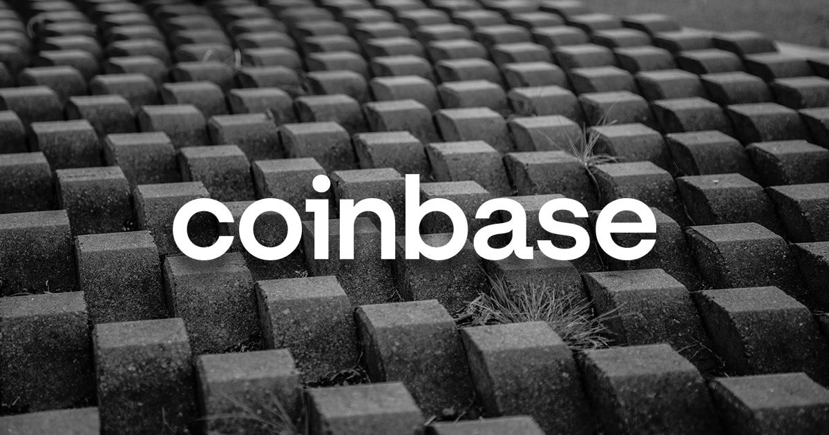 This message was included in a Bitcoin block after the Coinbase listing