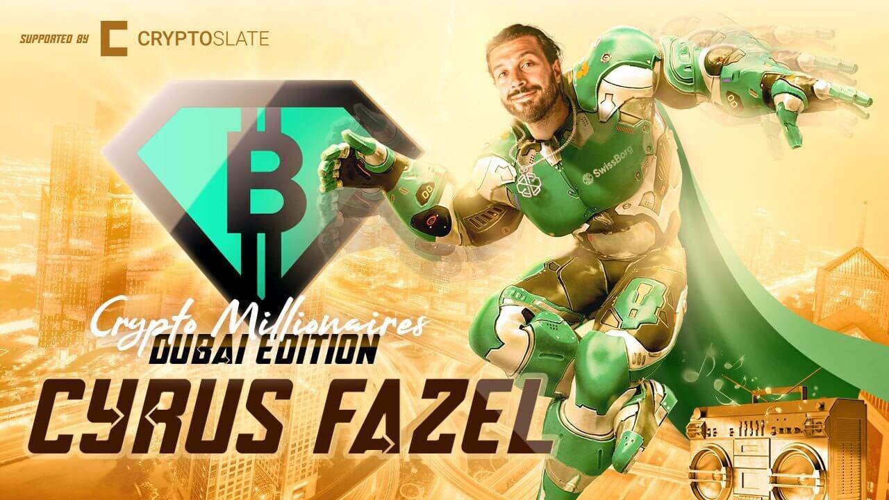 Inside DeFi and crypto builders with SwissBorg CEO Cyrus Fazel