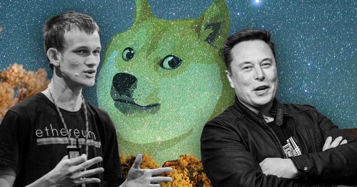 Elon Musk Ethereum co-founder slams Elon Musk's plans to '10x' Dogecoin thumbnail